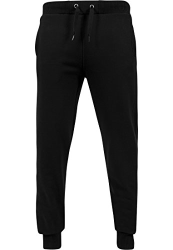 Urban Classics Hommes Straight Fit Sweatpants TB252, taille:XL, couleur:black