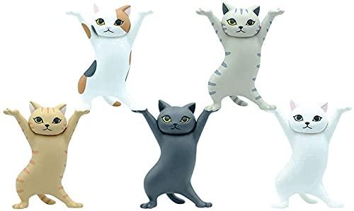 猫ペンホルダーネコのペンおき 全5種セットトペンホルダー (5PCS)