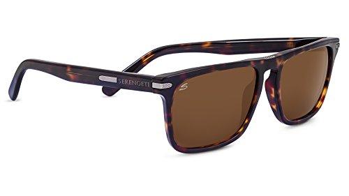 Serengeti Eyewear Sonnenbrille Large Carlo, Dark Havana/Drivers, 8324