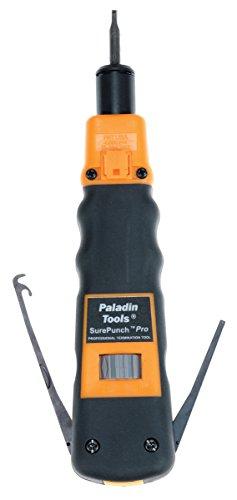 Paladin Werkzeuge PA3592SurePunch Pro-Anlegewerkzeug mit 110Klingen