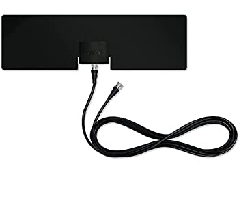 Mohu Leaf Metro TV Antenna Indoor Portable 25 Mile Range Original Paper-thin Reversible Paintable 4K-Ready HDTV 10 Foot Detachable Cable Premium Materials for Performance USA Made MH-110543