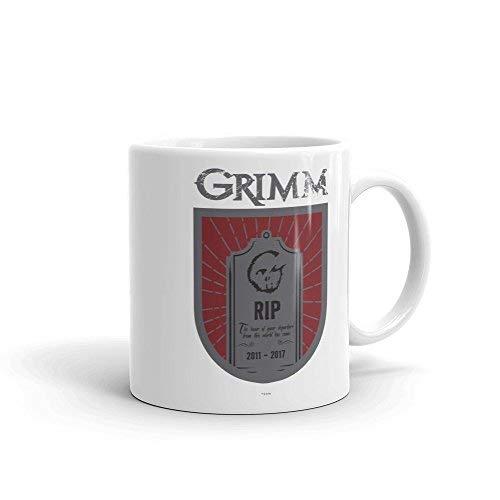 Maxwell546 Tasse Grimm Hour of Departure, Weiß, 325 ml