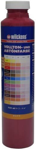 Wilckens Abtoenfarbe - Volltonfarbe / 750 ml/matt - 14 Farben zur Auswahl (Weinrot)