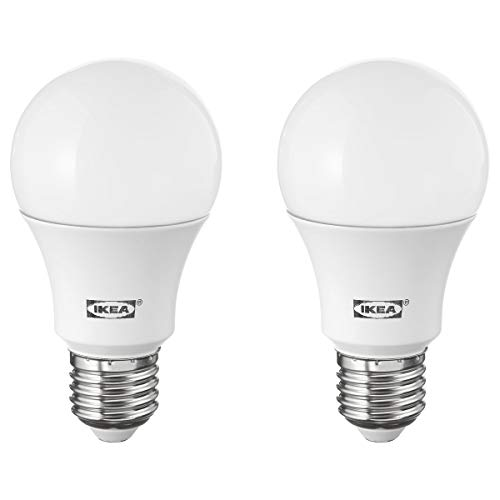 IKEA RYET LED lamp E27 1000 lumen bol opaal wit 2-pack