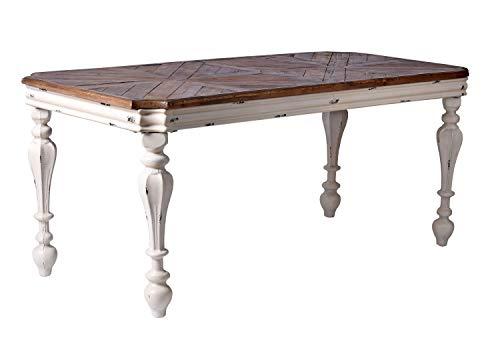 Esstisch XXL Landhausstil Tisch Metallbeine Küchentisch 184x84 cm bef001 Palazzo Exklusiv
