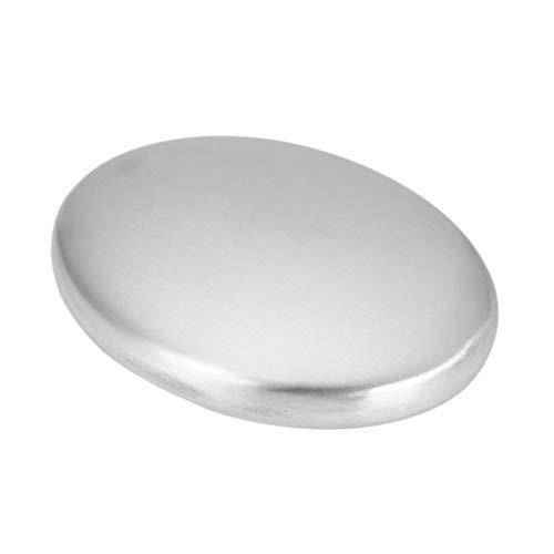Tvål av rostfritt stål som eliminerar lukt lukt Köksstång Handkok lukt silver