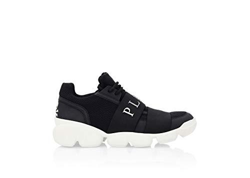 Philipp Plein Herren Low Top Sneakers Schwarz, Schwarz - Schwarz - Größe: 41 EU