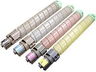 eToner Brand Compatible Ricoh Aficio SP C830dn SP C831dn Toner Cartridge Set Black. Cyan. Magenta. Yellow
