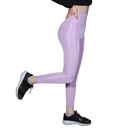 (50% OFF) High Waisted Leggings – Lilac Small $4.99 Deal