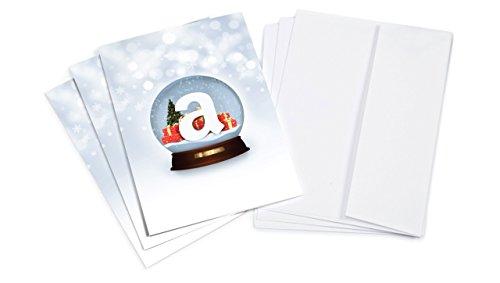 Amazon.de 50€ Geschenkgutschein im 3er Multi-Pack (Grußkarte Schneekugel)