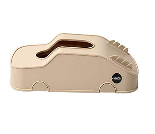 YMZ - Caja de pañuelos multifunción para coche, para navegación, teléfono móvil, tarjeta insertora