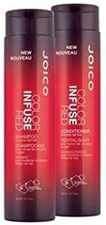 Joico New Color Infused Red Shampoo & Conditioner Holiday Duo Set 10 0z