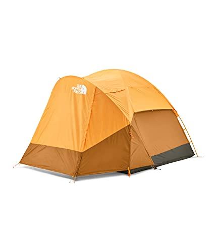 The North Face Wawona 4P, Light Exuberance Brown Orange/Timber Tan/New Taupe Green, OS