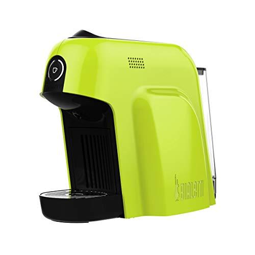 Bialetti Smart 12650110 Macchina da Caffè Espresso per Capsule in Alluminio Sistema Bialetti il Caffè d'Italia, 1200 W, Verde