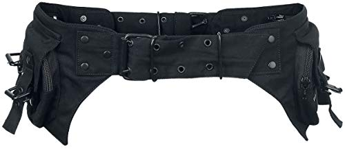 Gothicana by EMP Belt Bag Unisex Gürteltasche schwarz 115 cm