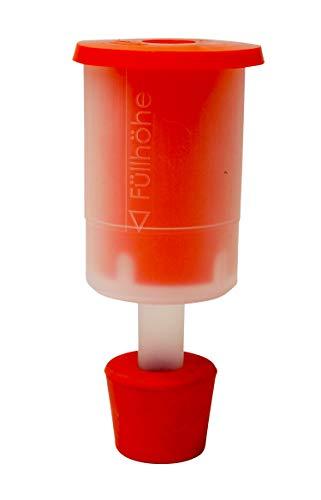 Bouchonnerie Jocondienne 431 Ablaufgarnitur für Kunststoff-Tonnel, Rot, 11,5 x 20 x 7 cm