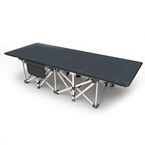 UCYG Cama Canapé Abatible Plegable para Invitados,Armadura De Metal Butaca Sofa con Colchón 1 Plazas para Camping Piscina Jardín, 200 Kg De Carga, 190x70x45cm