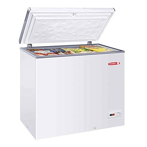 Torrey CHTC-75D Congelador Horizontal Blanco Temperatura Dual 2 Canastillas 7.2 Pies