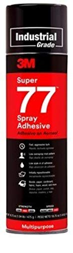 3M 21210 Super 77 Multipurpose Spray Adhesive (Case of 12)