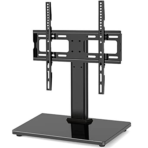 RFIVER Supporto TV da Tavolo per TV da 26-55 Pollici LCD/LED/OLED Girevole e Regolabile in Altezza...