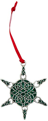 Cathedral Art Celtic Snowflake Ornament