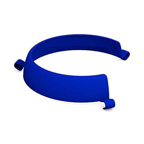 Ornamin Tellerranderhöhung blau (Modell 709) / Esshilfe, Alltagshilfe, Spezialgeschirr