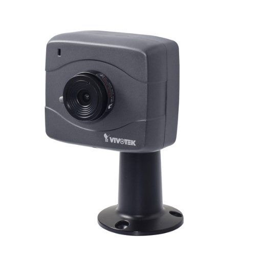 Vivotek IP8152 Dag/nacht compacte netwerkcamera (1,3 megapixel, 4 mm, Power over Ethernet, Dual Codec H.264/MJPEG) met CS-Mount Fixobjectief