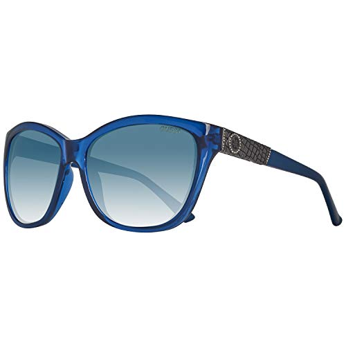 Guess Sun GU7417 90X-60-17-135 Gafas de sol, Azul (Blue), 60 para Mujer