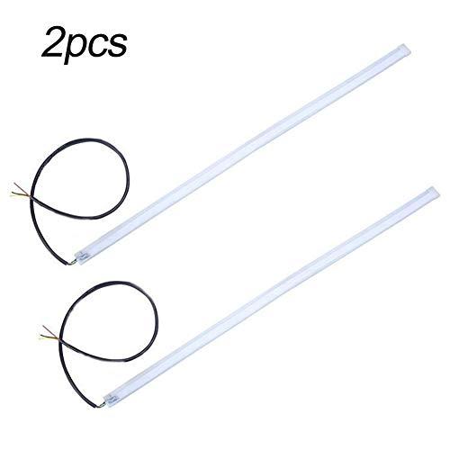 2 Stück LED-Tagfahrlichter, Blinker, LED-Streifen, für 12 V Auto, nicht null, Wie abgebildet, 2pcs