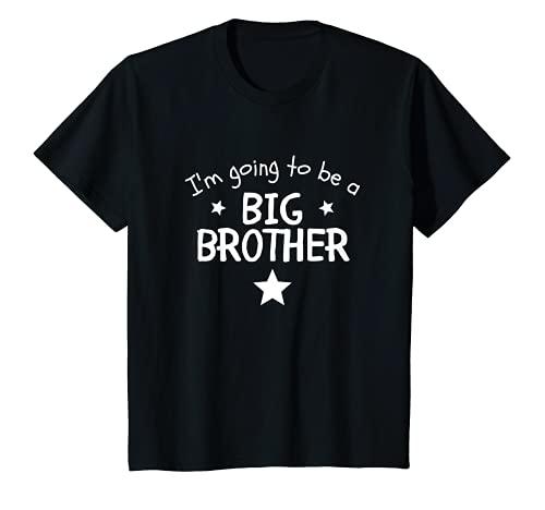 Bambino I'm Going To Be A Big Brother New Baby Promoted Pregnancy Maglietta