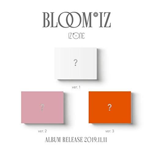 IZONE 1ste album - BLOOMIZ (incl. Voordelen vooraf bestellen (QR-kaart, ansichtkaart, mini-fotokaart, gewalste post), één willekeurige IZONE-acrylfotokaart)