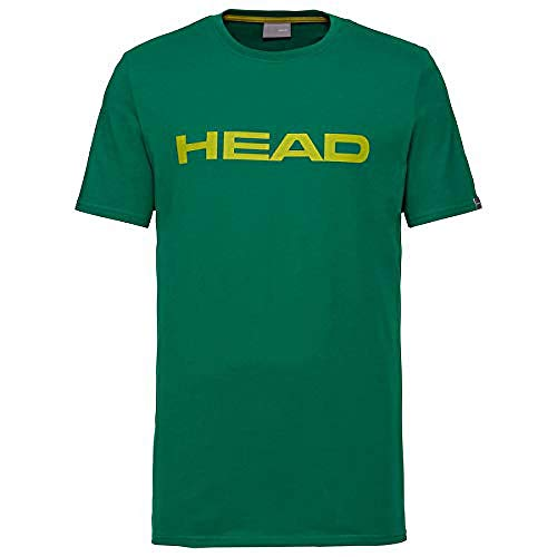 HEAD Herren Club Ivan T-Shirt M, grün/Gelb, X-Large