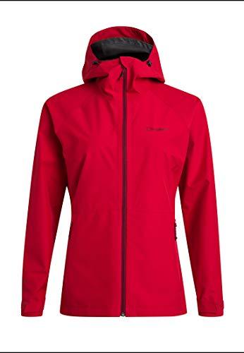 Berghaus Damen Paclite 2.0 Wasserdichte Jacke Übergangsjacke Hardshell Gore-Tex Wasserdichte Jacke, Rot, 38