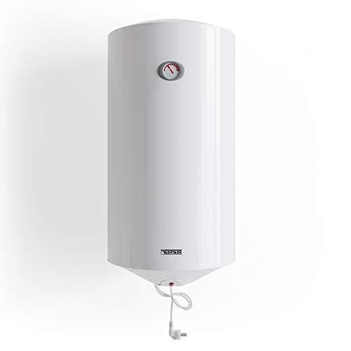 ELDSTAD Boiler PERMA PLUS Warmwasserspeicher weiß 35-100 L Sicherheitsventil (100 l)