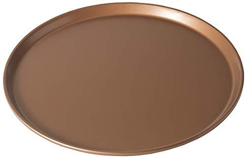 Chef Select Pizza Pan NonStick 14Inch Heavy Copper Color Steel
