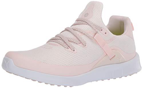 PUMA Damen Golfschuh Laguna Fusion Sport, Pink (Rosewater Puma Weiß), 43 EU
