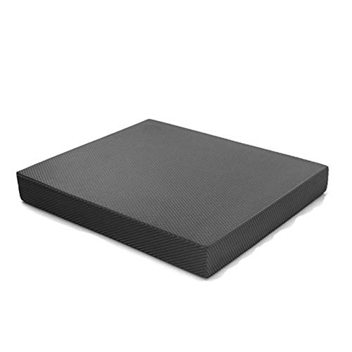Engpai Balance Coach mat suave pedal entrenamiento mat núcleo grueso cintura y abdomen, ejercicio yoga tobillo articulación stall mat fitness accesorios negro