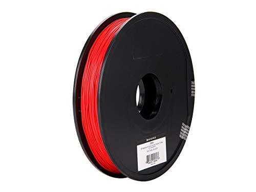MP-Spezial-3D-Druckerfilament von Monoprice, flexibles TPE - Schwarz - 0,5 kg/Spule, 1,75 mm dick, ideal für Action-Figuren, Dichtungen, Handyhüllen