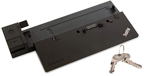 Perfect Case von MaryCom Lenovo ThinkPad Ultra Dock für ThinkPad T440 T450 T460 T470 T550 T560 T570 X240 X250 X260 X270 W540 W541 W550s P50s P51s | MIT SCHLÜSSEL | OHNE NETZTEIL | (Generalüberholt)