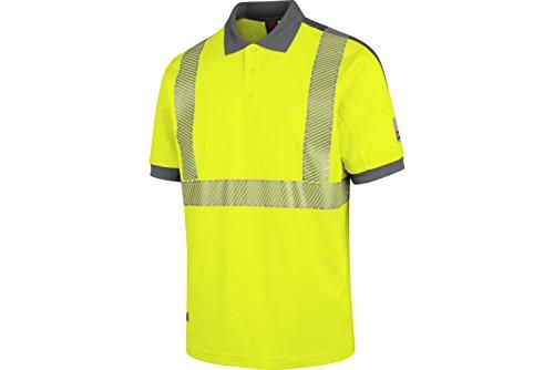 WÜRTH MODYF Warnschutz Poloshirt Neon EN 20471 2 gelb anthrazit: Das zertifizierte Poloshirt aus der German Design Award Winner Kollektion 2019.