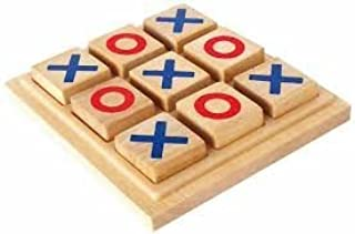 Myesha Toys Classic Board Games Tic Tac Toe, Noughts and Crosses, Brain Teaser, Puzzle, Coffee Table for Family, Adults an...