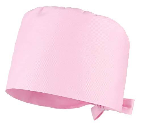 Cloudkids Sombrero Enfermera Unisex Ajustable Robin Hat Algodón Sombrero Quirofano Reutilizable Dentista Gorro para Mujers Hombres Gorro de Trabajo Lavable (Rosa)