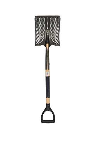 Toolite 49493#2 Square Point Shovel, 29' Wood Handle, Poly D-Grip