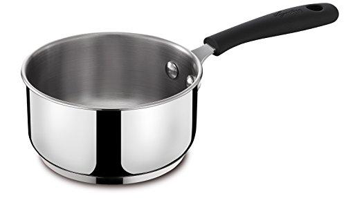 Lagostina Gioiosa fondue steelpan, roestvrij staal, diameter 14 cm, 1 liter