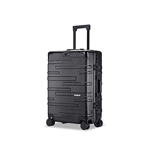 JIAWYJ Maleta portátil/Maleta de Equipaje con Equipaje de Gran Capacidad Conjuntos de Equipaje Suitcases Carreras de Transporte Carry On Hand 24 Pulgadas/Código de Productos básicos: LWH-49