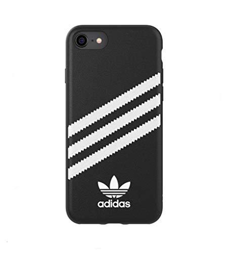 adidas Carcasa Moulded Case PU FW 18 Negro/Blanco Compatible con iPhone 6/6S/7/8