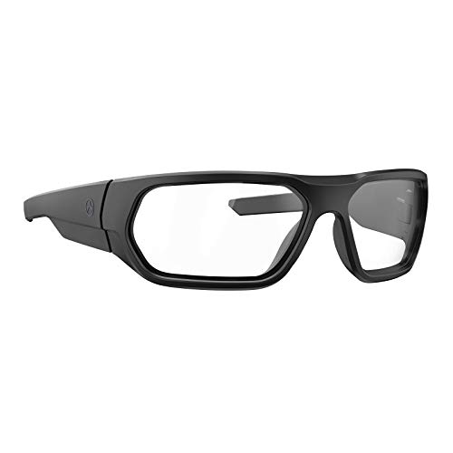 New Magpul Radius Sunglasses Outdoor and Shooting Eyewear, Black Frame / Clear Lens, Non-Polarized
