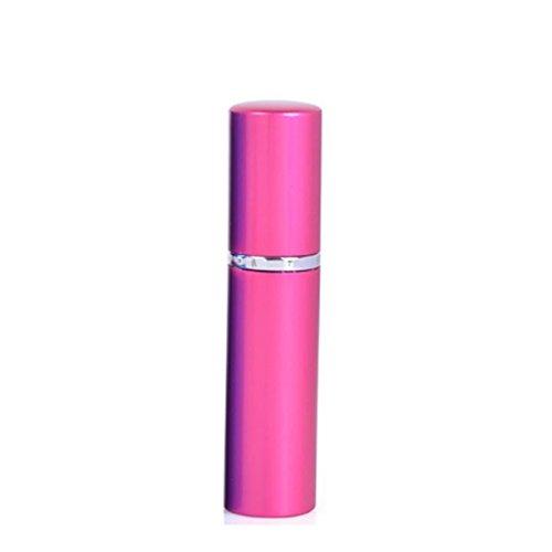 Queenbox 6ml Portable Metall Mini Tragbare nachfüllbare Spray Flasche Parfüm Zerstäuber mit Spray Scent Pump Fall nachfüllbare Parfüm Flasche