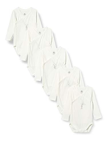 Petit Bateau 5425500 Conjunto de ropa interior para bebés y niños pequeños, Blanco / Didou1 Blanco / Didou2 Blanco / Didou3 Blanco/Filantino Blanco/Filantano, 3 meses