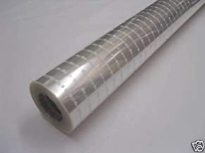 20m x 80cm Roll White Dot Cellophane Wrap